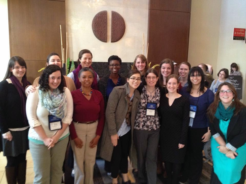 MSLIS students at the NYLA Annual Conference
