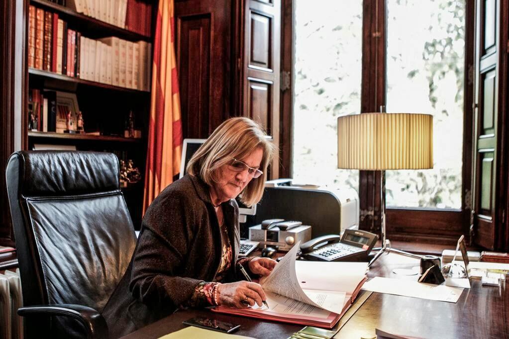 Presidenta Parlament Catalan