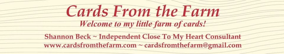Cards From the Farm