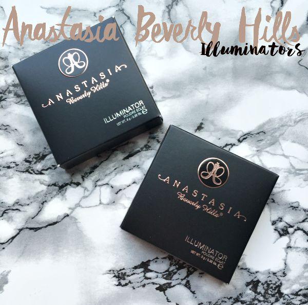 Anastasia Beverly Hills Illuminators Swatches