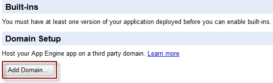 Add Domain Google Apps Free