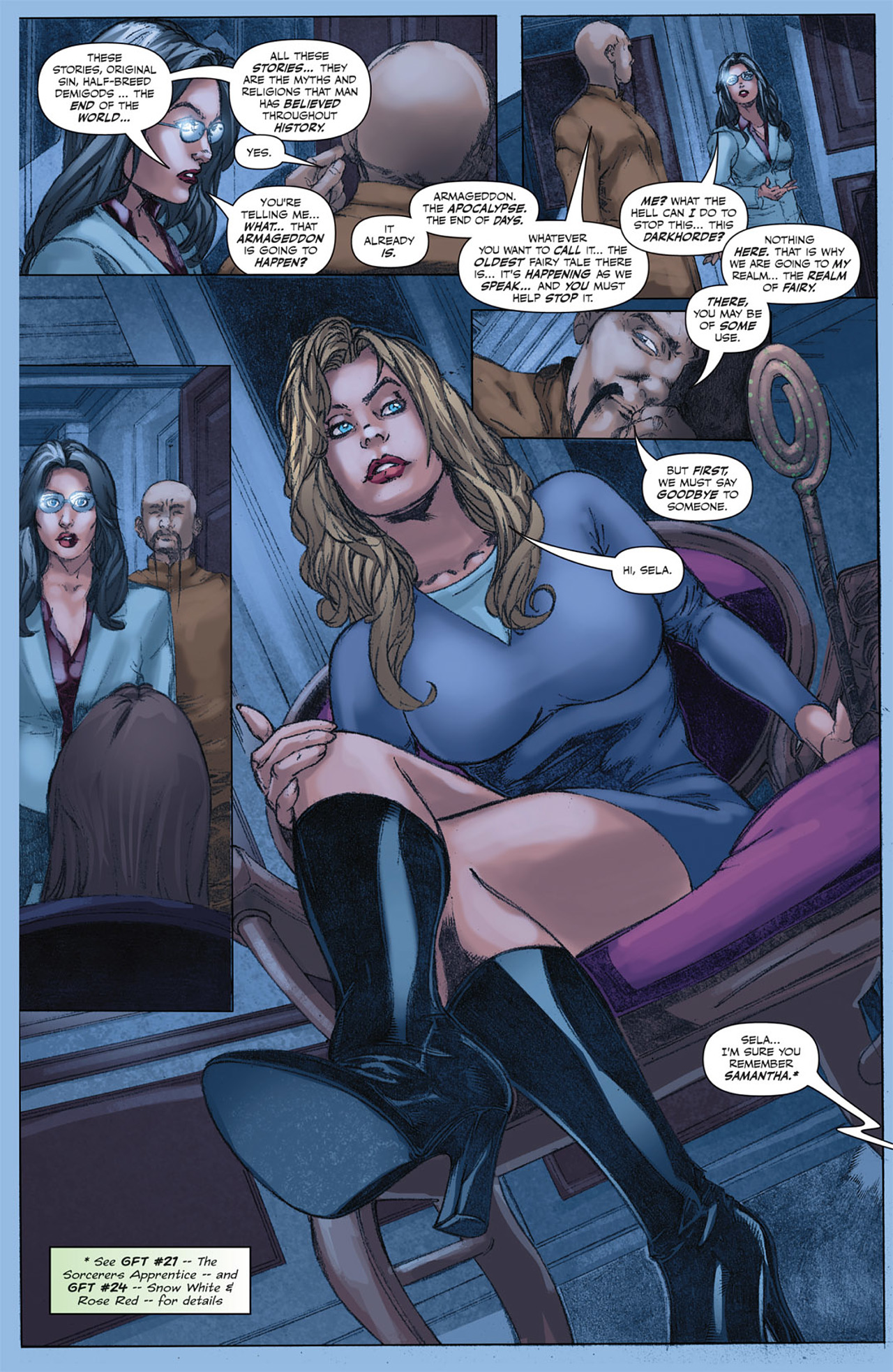 Grimm Fairy Tales (2005) Issue #45 #48 - English 19