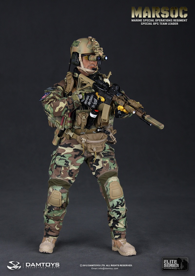 Preview DAM Toys 1/6 MARSOC (Marine Special Ops Regiment ...