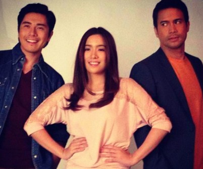 Sam Milby, Angeline Quinto and Paulo Avelino Topbill 'Kahit Konting Pagtingin'