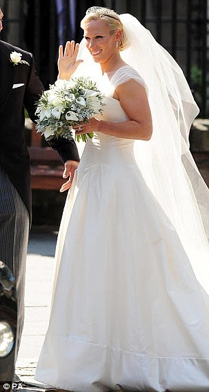 Joanne Ferguson Bridal Zaras Royal Wedding Dress