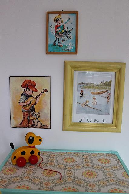 Huset ved fjorden: bilder til barnerom
