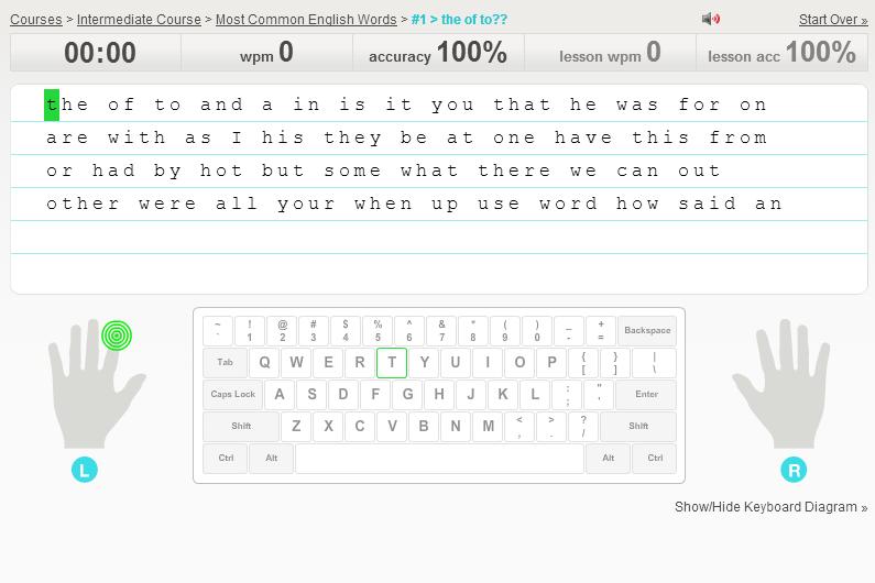 免費線上英文打字測驗、練習網站推薦