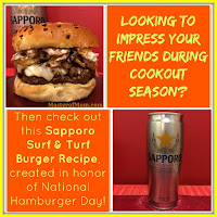 Recipe for burger using beer