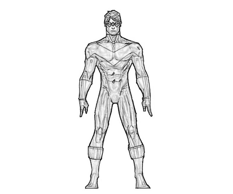 coloring pages of deathstroke injustice - photo#35
