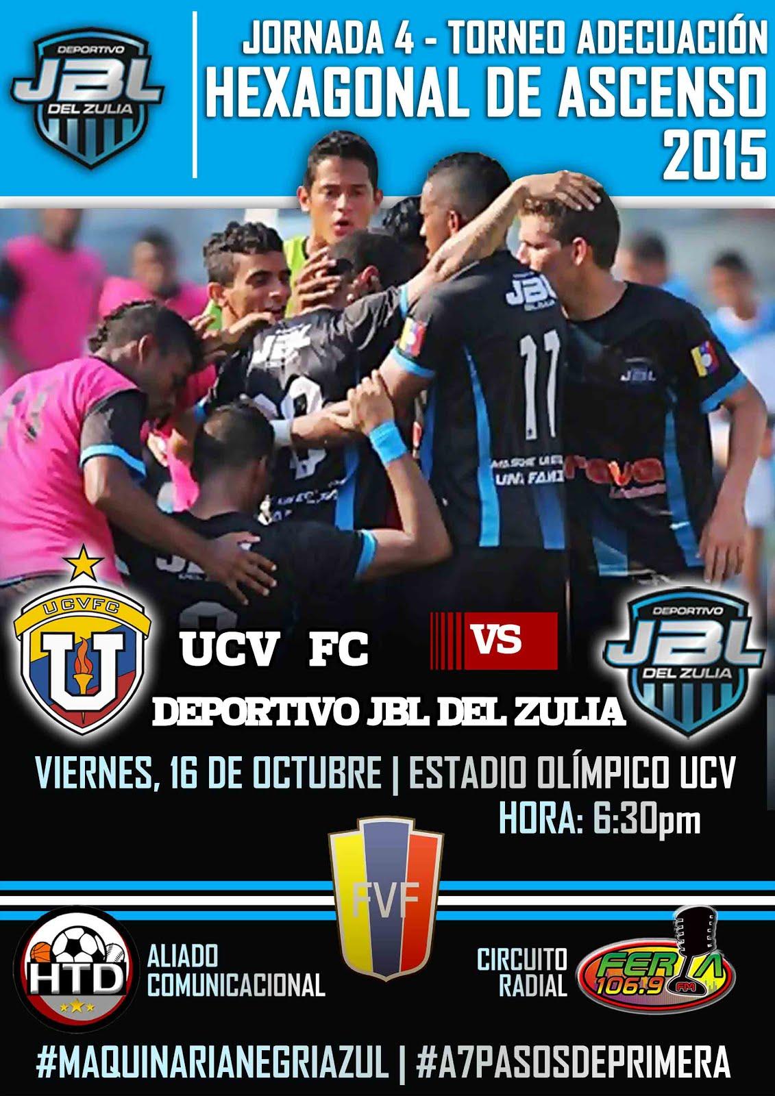 J4 Hexagonal Victoria 1-0 de UCV FC