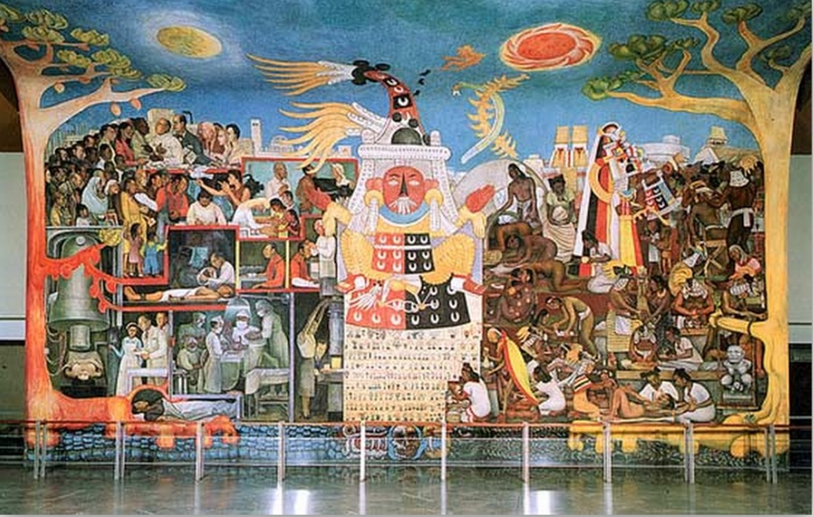 Mexican pth c for Mural mexicano