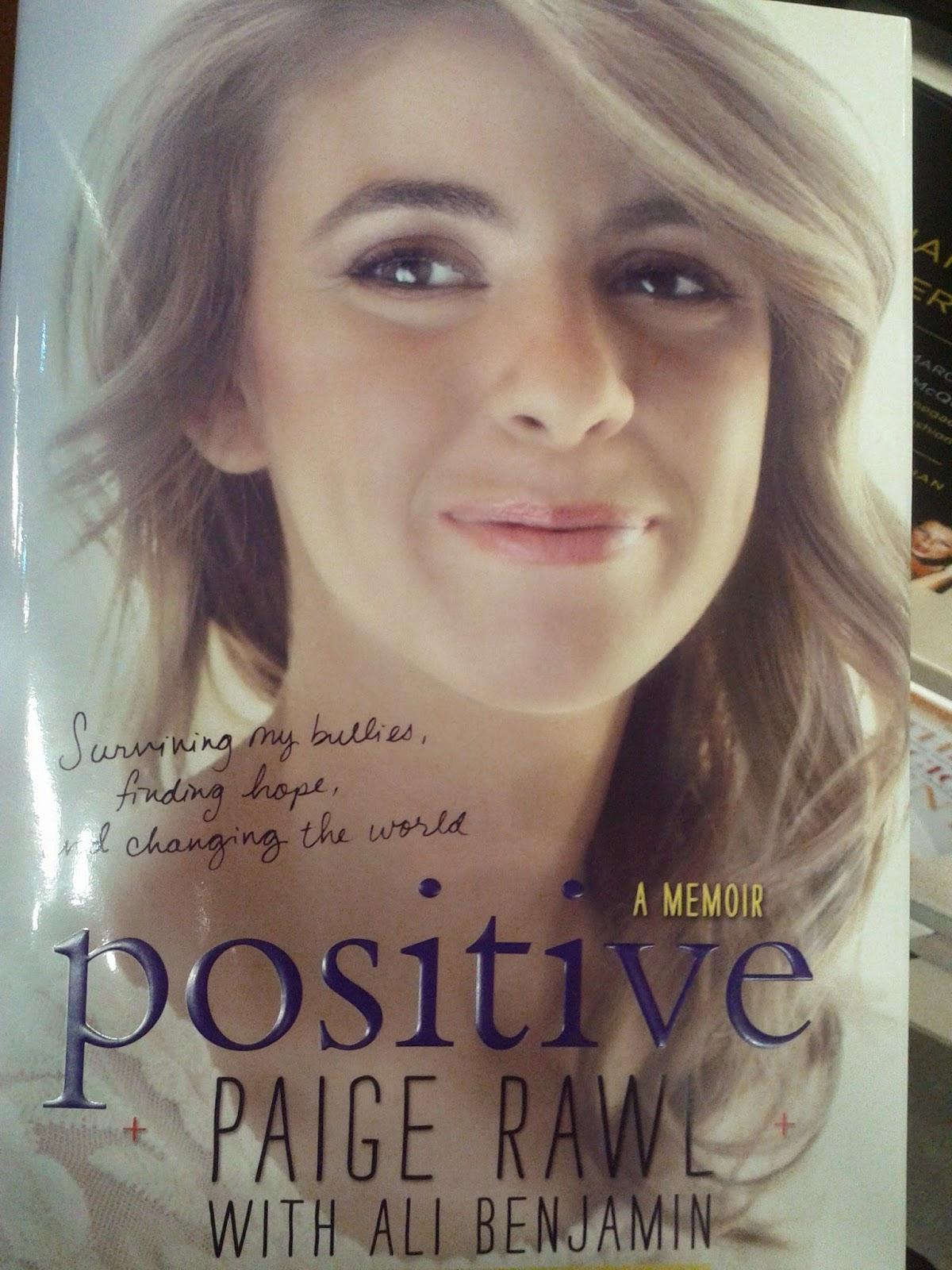 Paige Rawl Memoir, Positive