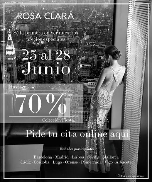 Venta Especial Rosa Clará : Vestidos de fiesta hasta el 70% de descuento