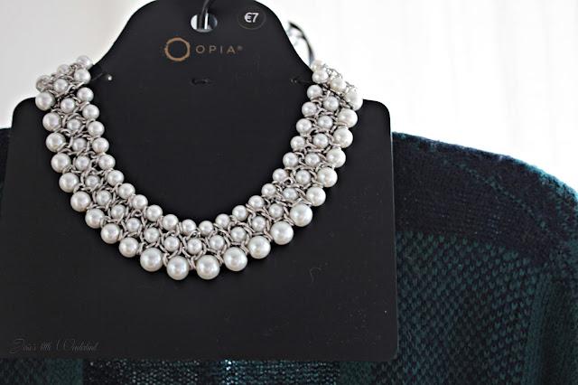 Fashion | Novemberausbeute, blog, shoppingausbeute, josie´s little wonderland, november, necklace, perl, white, statement necklace