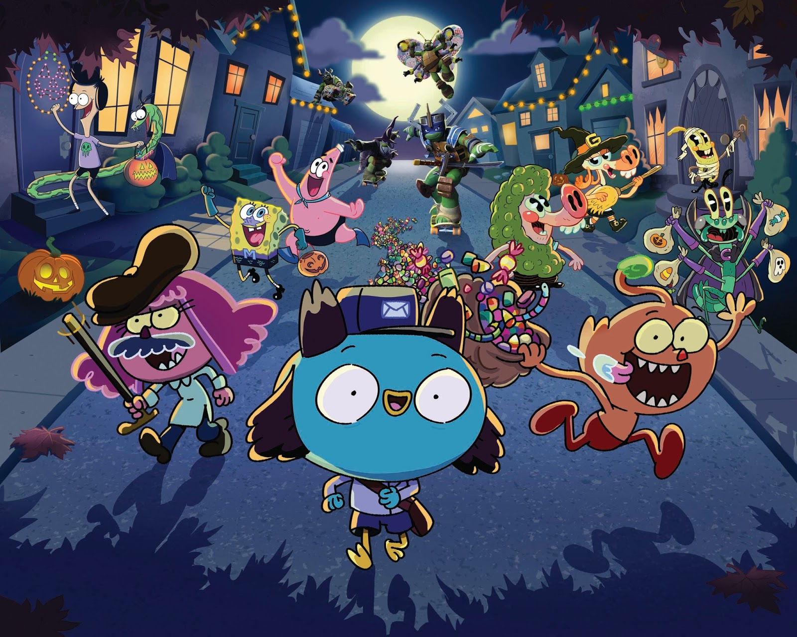 Nickelodeon Announces Halloween Schedule Starting October 12th ...