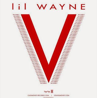portada promocional del disco tha carter V de lil wayne