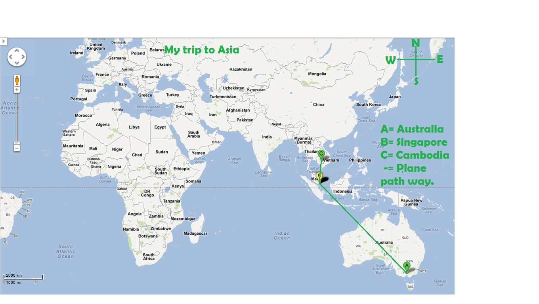 My trip to Asia