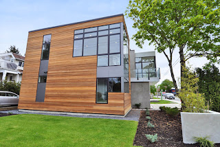 LEED Platinum sustainable prefab home