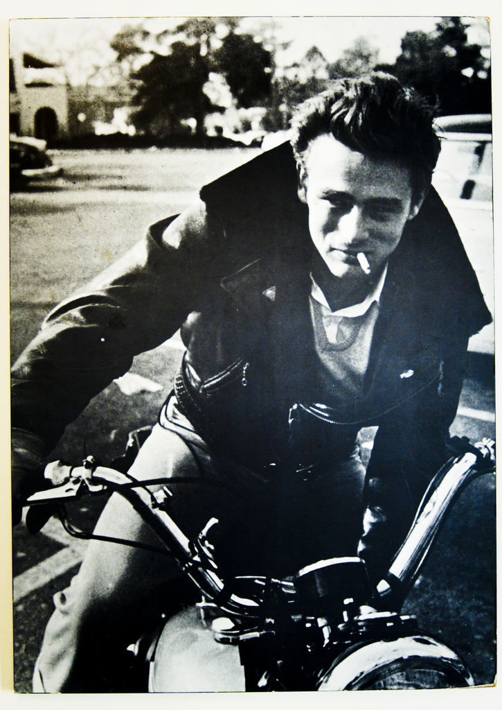 ... bikers stirred up images of bad boys like Marlon Brando and James Dean.