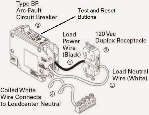 wiring arc fault breaker wire center u2022 rh regalton co wiring diagram for arc fault breakers electrical wiring arc fault breaker