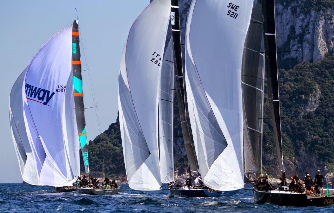Barclays 52 super series: a Capri vince Azzurra