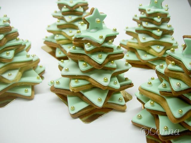 Χριστουγεννιάτικο μπισκοτόδεντρο / Cookie Christmas tree