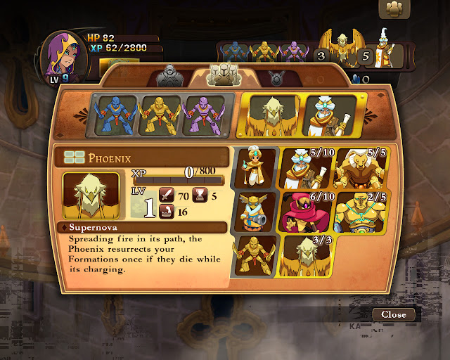 Might & Magic: Clash of Heroes Academy Units Screenshot