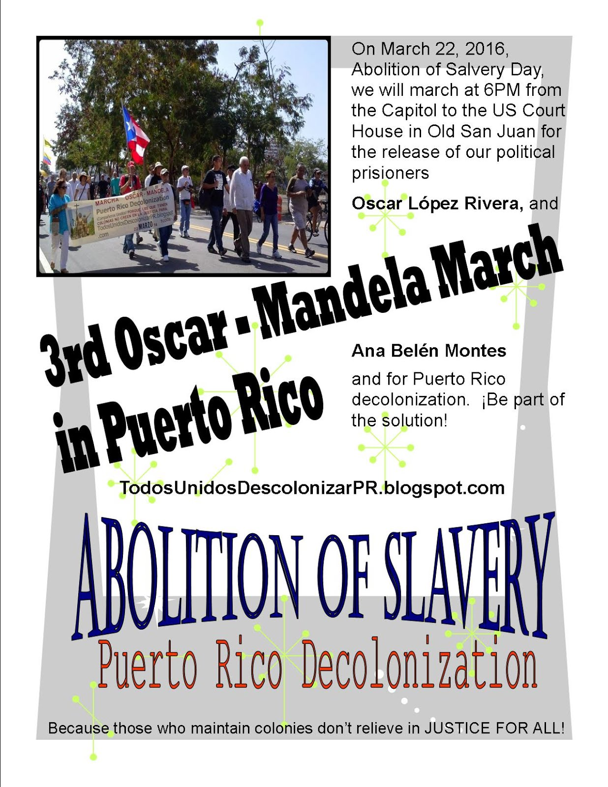 3rd Oscar - Mandela March in PR 2016