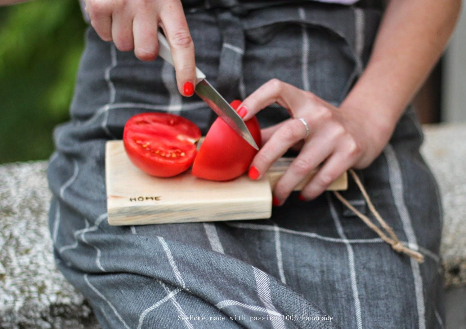 Pomidor, Deska do serwowania
