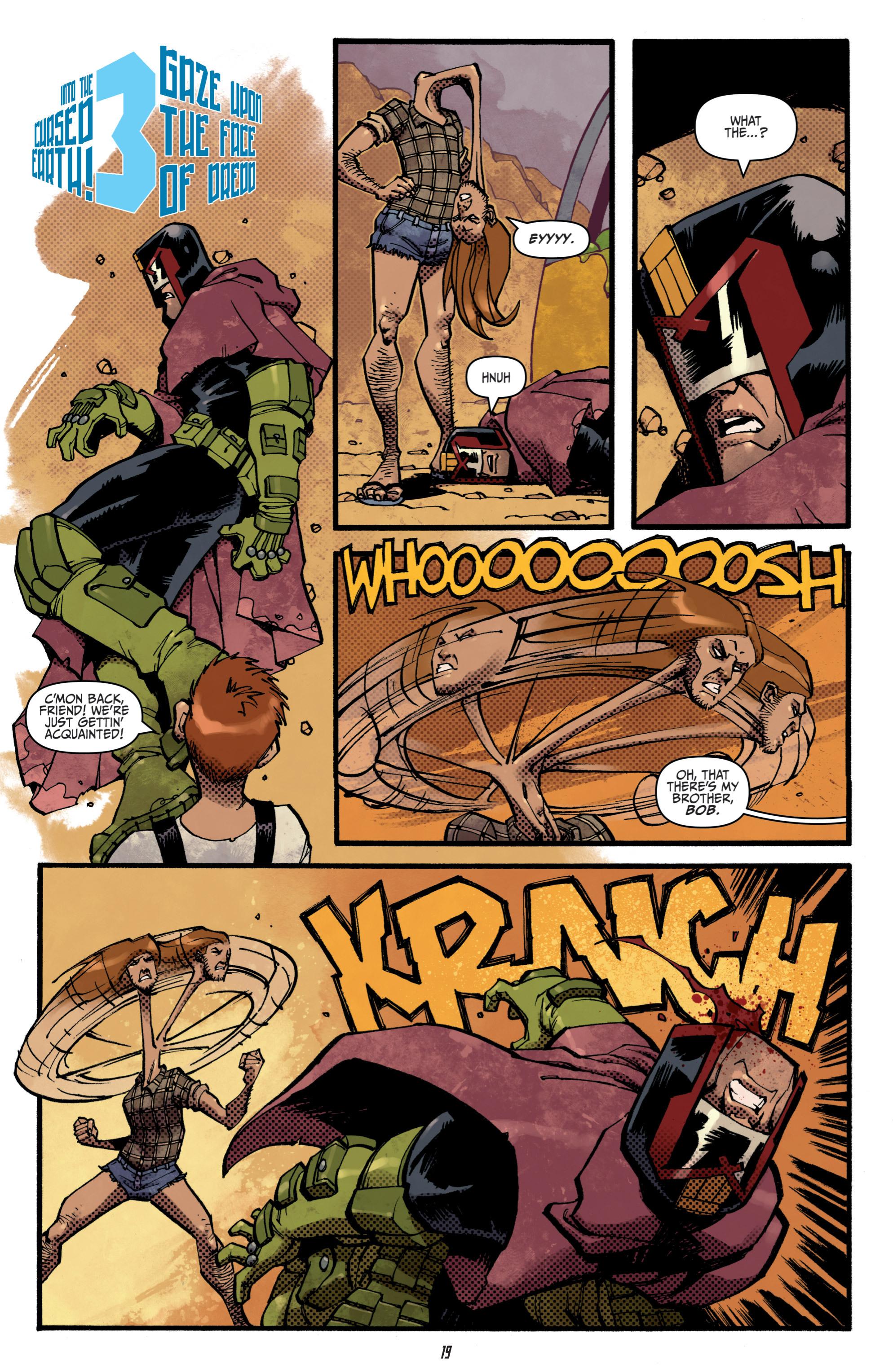 Read online Judge Dredd (2012) comic -  Issue # _TPB 3 - 19