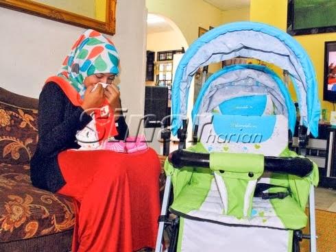 ibu muda hilang anak serentak, sinar harian, ibu mud, gambar ibu, gambar perempuan dan anak