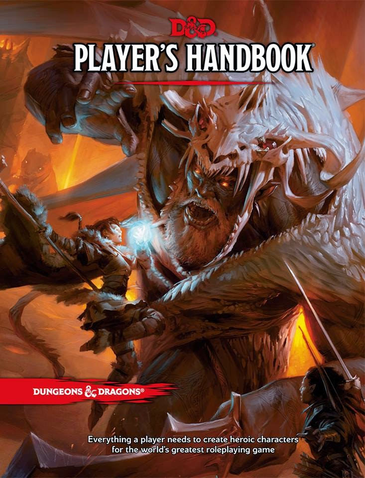 dungeons & dragons D&D roleplaying game player's handbook