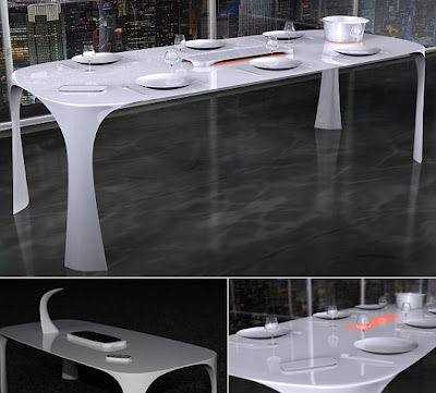 Modern and Innovative Integrated Dining Tables (15) 2