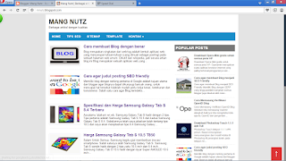 Template blog Mang Nutz