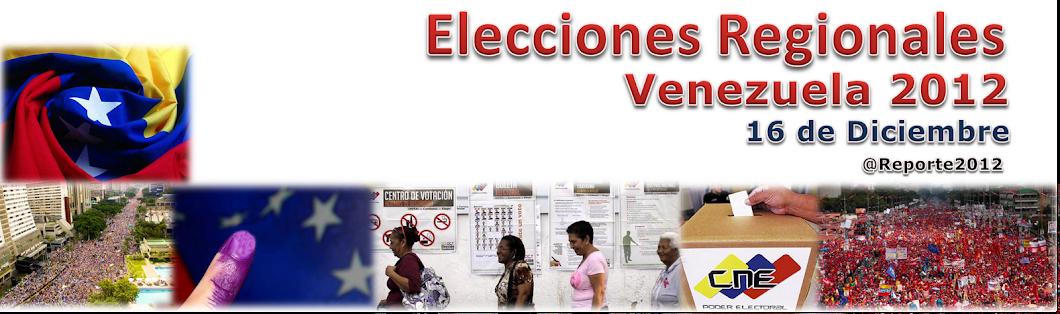 Elecciones Regionales 2012 Venezuela