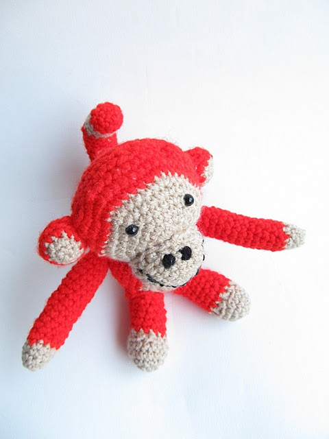{Monkey Business - A free crochet pattern} - Little Things ...
