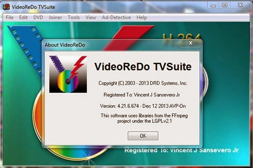 DRD Systems VideoReDo TVSuite