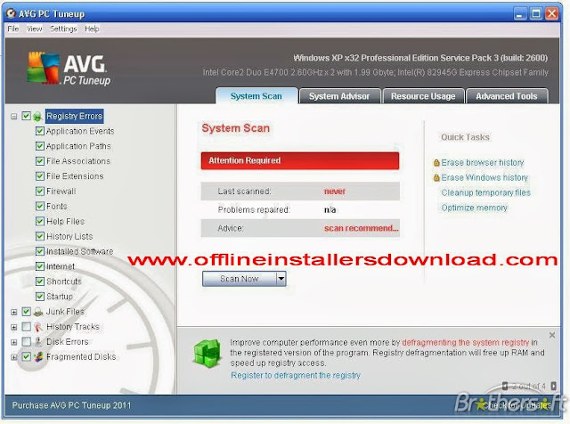 Uninstall corrupted AVG Protection