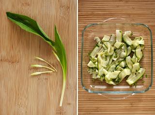 medvehagyma bimbó medvehagymabimbó marinált cukkíni zöldcitrom lime zöld peperóni chili olívaolaj üvegtál üveg tál