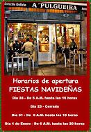 Horarios de apertura en estas Fiestas Navideñas 2015