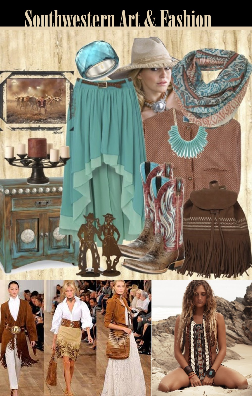 Beauty And The Green Southwestern Style Not Just For