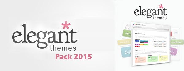 elegantthemes Themes & Plugins Pack 2015