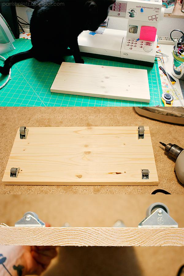 sewing machine tilt table