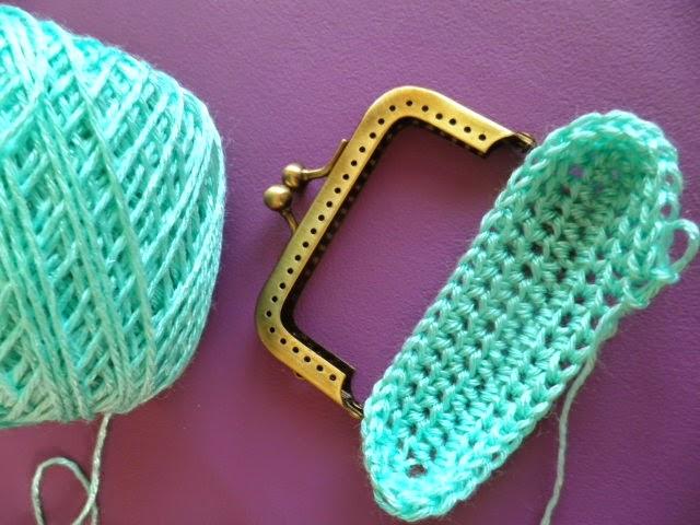 Artes Anas Boquilla Cuadrada Para Tu Monedero Crochet - Monederos-ganchillo
