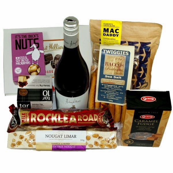 what to put in a wine gift basket for delivery