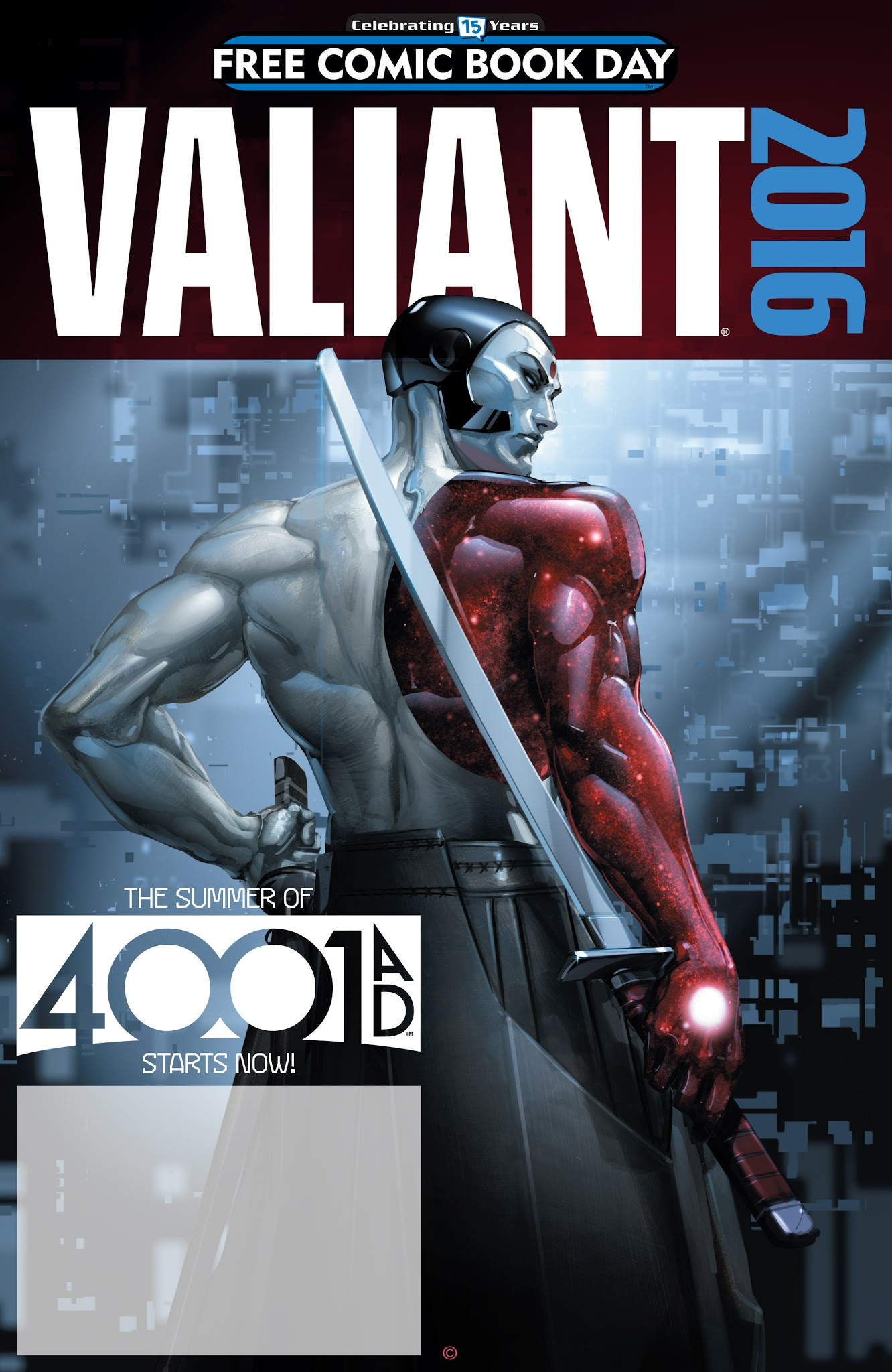 Valiant: 4001 A.D. FCBD Special Full Page 1