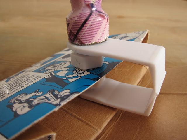 lommebok av juice kartong