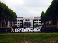 Penerimaan Mahasiswa Baru Universitas Riau 2013/2014