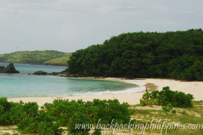 mahabang buhangin beach calaguas island