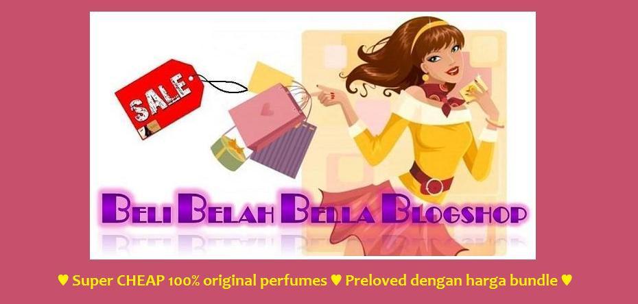 Beli Belah @ Bella Blogshop